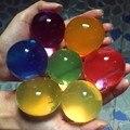10-12 мм Воды Бисер Жемчуг Форме Мягкого Кристалл Почвы Шар Волшебный Шар Гидрогель Игрушка Болюс Water Ball Toys для Детей