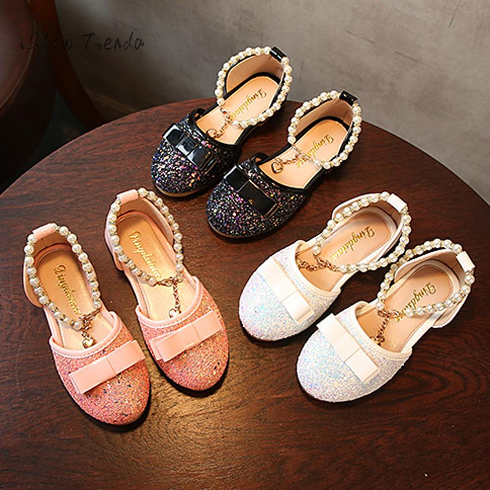 shoes kids girls Baby sandale fille Fashion Princess Dance Leather Casual Single Shoes for girls mini melissa children shoes