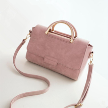 INLEELA New Arrive Women All-match Bag Fashion Nubuck Handbag High Quality Medium Shoulder Bag Winter Women Messenger Bag