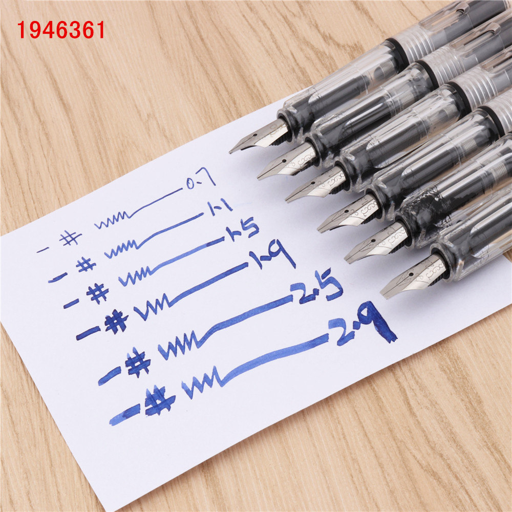Duckbill Gothic parallel to the art flower body art Flat Tip Vinyl Tibetan Arabic Fountain Pen New Student office ink pens