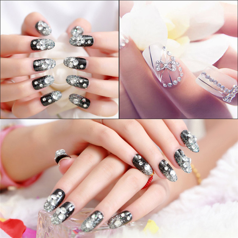 a new 3d acrylic nail art tips decoration flat back