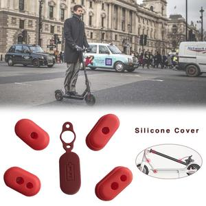 Image 1 - 5pcs New Electric Scooter Charging Port Dustproof Cover Plug Silicone Case For Xiaomi M365 Scooter Accessories Support Wholesale