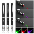 Laser Sight Pointer 5MW High Power Green Blue Red Dot Laser Light Pen Powerful Laser Meter 405nm 532nm 650nm Green Lazer