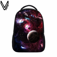 VEEVANV 2019 Planet Galaxy Space Backpacks For Teenager Girls Boys Universe Space Bag Galaxy Night Sky Children School Bags