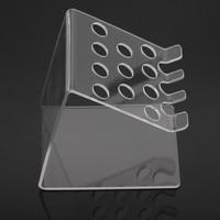 Lab Supplies Dental Adhesive Resin Syringe Acrylic Organizer Holder Case 1Set For Dentistry Clinic