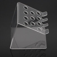 Lab Supplies Dental Adhesive Resin Syringe Acrylic Organizer Holder Case 1Set For Dentistry Clinic