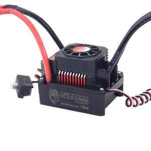 Image 5 - KK Motor sin escobillas para coche de control remoto, juego de 3674 1900KV 2250KV 2500KV con disipador de calor 120A ESC para coche de control remoto 1/10 1/8