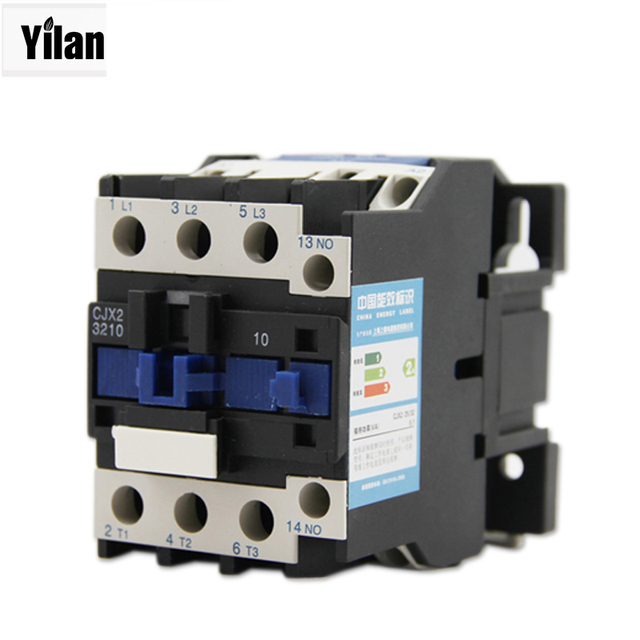 AC Contactor Motor Starter Relay Delixi CJX2 1201 /220V/380V-in ...