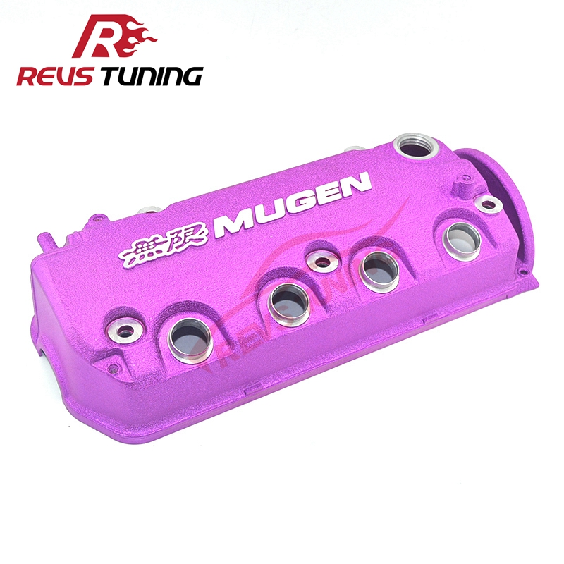 Blue Red Grey Puple MUGEN Type R Rocker Engine Valve chamber cover For Honda Civic D16Y8