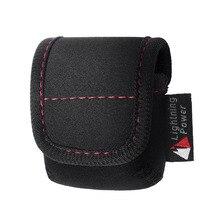 Neoprene protective carrying case bag para a apple airpods carregamento case (preto)
