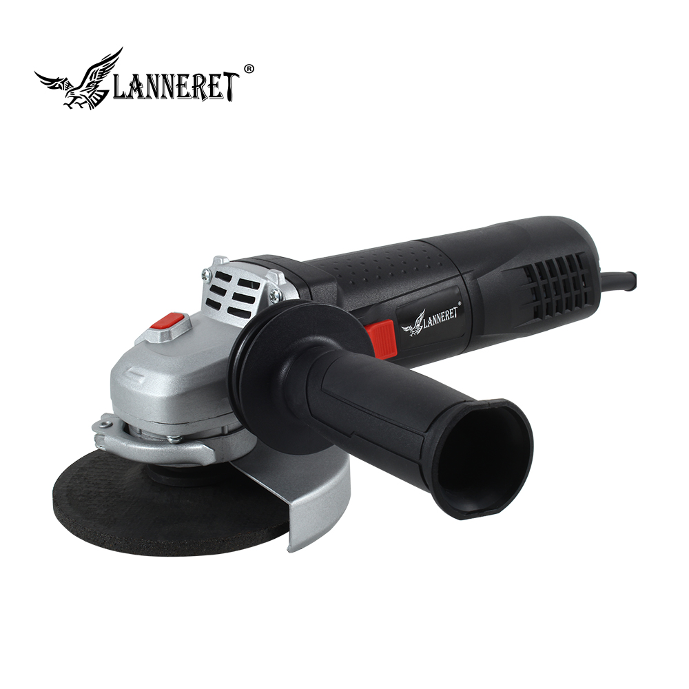 LANNERET 1100W 125mm Electric Angle Grinder Variable Speed with Constant Power Soft Start Electronic for Grinding and Cutting