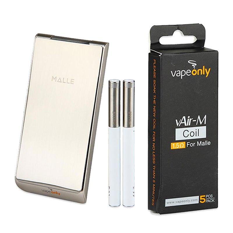 Clearence Original 2250mAh VapeOnly Malle Portable étui de chargement wi/2 pièces cigarettes électroniques 180mAh Kit de démarrage