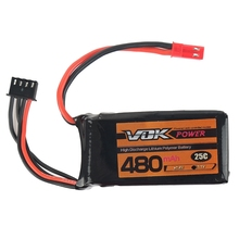 Battery Professor VOK 3S Lipo Battery 11.1V 480mAh 25C Battery Universal For RC Racing Helicopter Drone