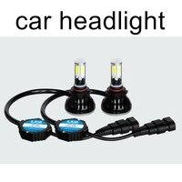 one pair 12V 24V 40W COB LED Headlight 4000LM Car LED Headlights Bulb Lamp Fog Light 5202 H16 9006 HB4 H7 H8 H9 H11 H10 9005 HB3
