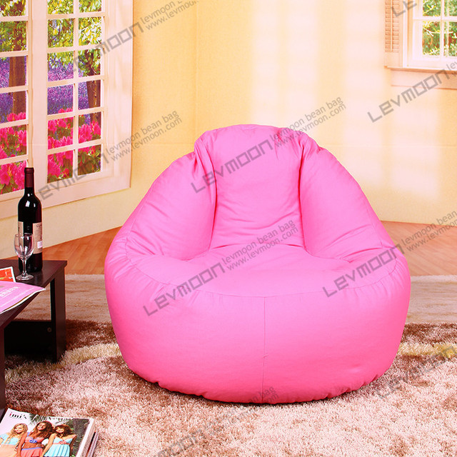 FREE SHIPPINGpink Bean Bag Chair Couch 100CM Diameter Pink Bags 100 Cotton