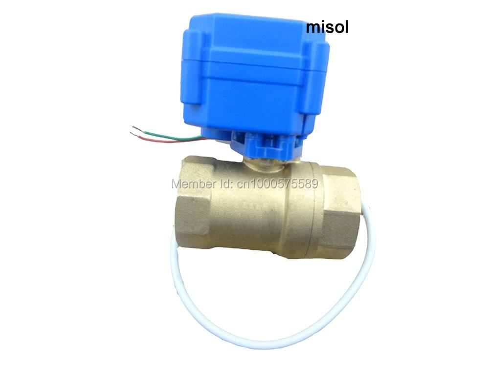 motorized ball valve DN20, 3/4