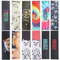 Professional Skateboard Griptape Anti Skid Skate Board Rough Sandpaper 83 23cm Fish Board Longboard Skateboard Grip