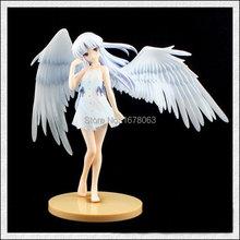 "Angel Beats! Tenshi Kanade Tachibana Sweet Smile version Limited 1/8 8""/20cm PVC Action Figure Model Toy Colletion Kawai Lolita"