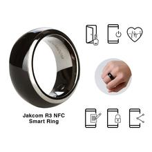 Jakcom R3 Waterproof Smart Ring NFC Mobile Phone Smart Bracelet High Technology Phone Lock Magic Magnet Ring No Charging Device(China)