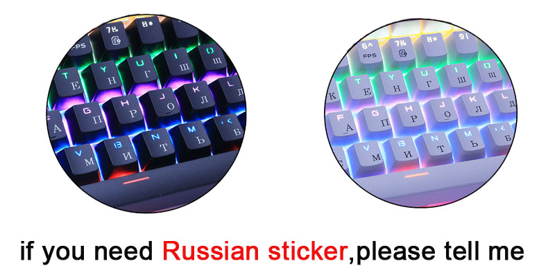 Keyboard Mechanical 87/104 Anti-ghosting 1