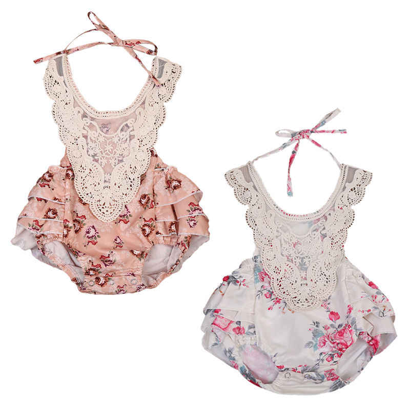 2dc8f87f2081 Detail Feedback Questions about 2017 Cute Lace Floral Baby Girls ...