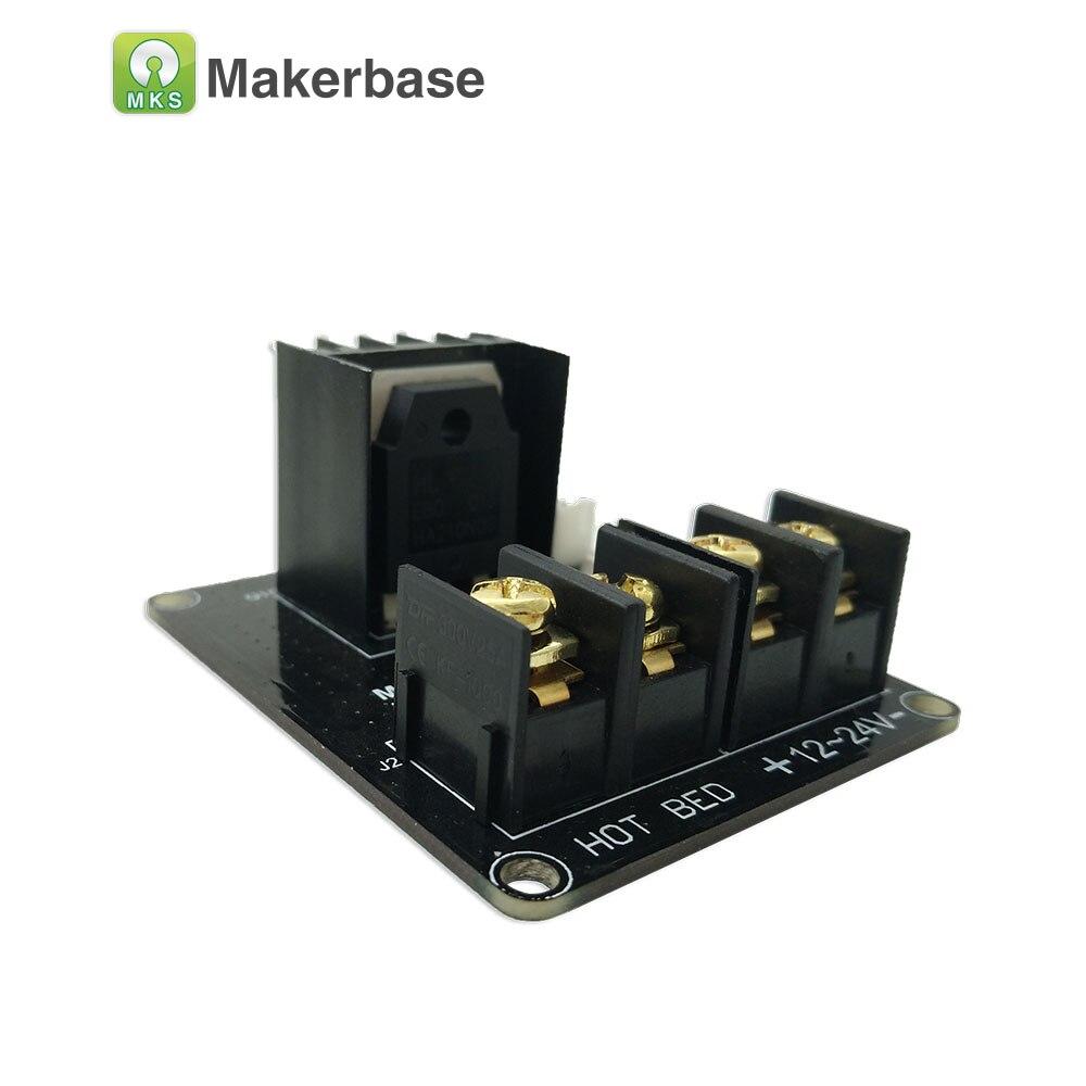 3D imprimante pièces de chauffage-contrôleur MKS MOS25 V1.0 pour chaleur lit extrudeuse MOS module soutien grande actuel 25A