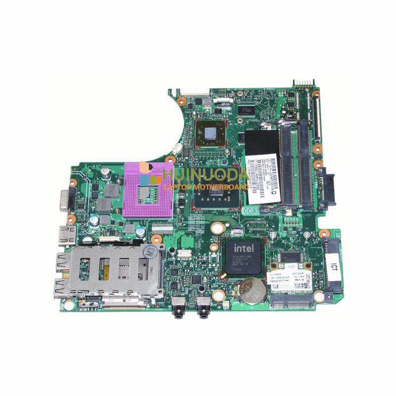 NOKOTION 583077-001 Mainboard for hp probook 4510S 4710S 4411S Laptop motherboard PM45 DDR3 ATI graphics 574680 001 1gb system board fit hp pavilion dv7 3089nr dv7 3000 series notebook pc motherboard 100% working