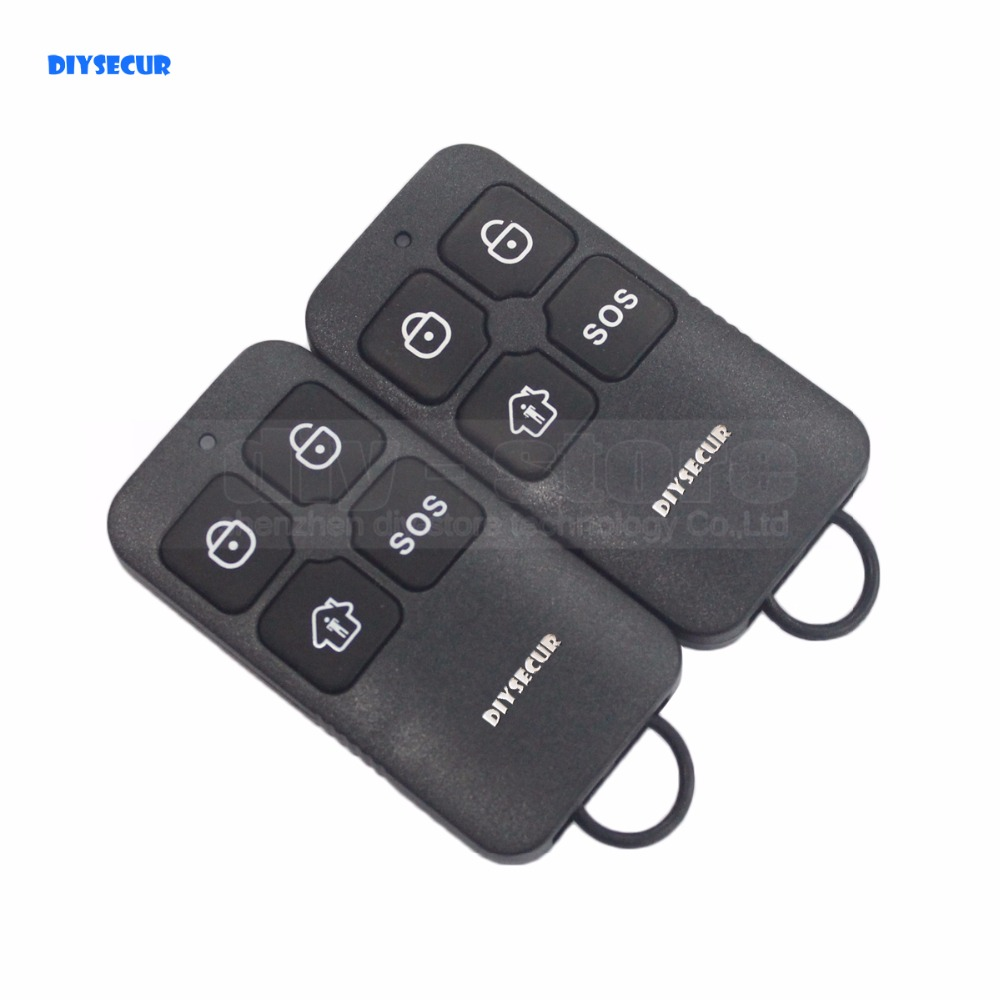 DIYSECUR K6 Wireless 433Mhz Keyfobs Remote Control for Our Related Home font b Alarm b font