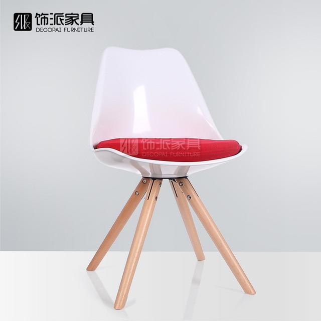 eames chair cushion swing garden ireland tulip wood lounge designer chairs creative fashion minimalist ikea