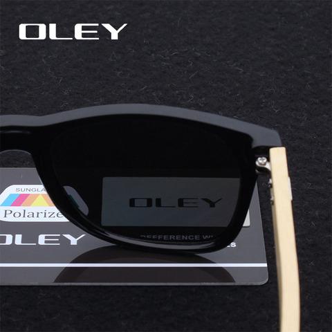 OLEY New Bamboo Polarized Sunglasses Men Wooden Sun glasses Women Brand Designer Original Wood Glasses masculino Multan