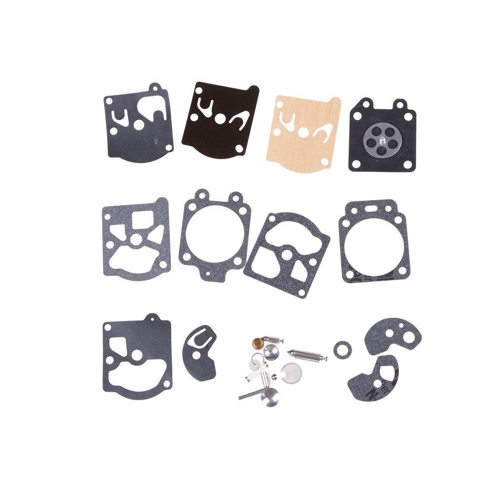 1 Set K10-WAT Full Carburetor Kits Carburetor Repair Kit Carb Rebuild Tool Gasket Set For Joint Diaphragme Pour Walbro WA & WT