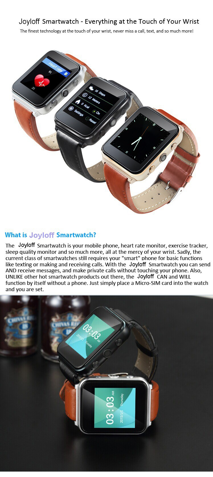 Fashionable Quality Assurance wire drawing swap smart watch-in Smart ...