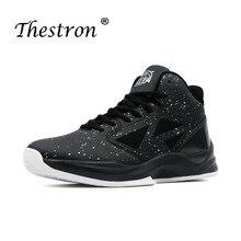 2019 Basketball Shoes for Men Hard-Wearing Mens Shock-Absorbant Boys Sport Footwear