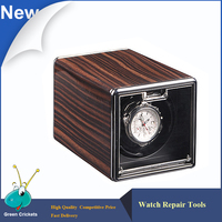 2017 Latest Wooden Painting 4 Modes Watch Winder Box Germany Ultra Quiet Motor Watch Winder