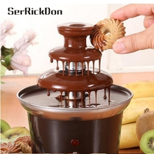 Chocolate Fountain Fondue Event Wedding Children Birthday Home Fountains Christmas Waterfall Machine