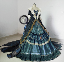 Anime Miracle Nikki Cosplay Costume super gorgeous dress Victorian court Formal Christmas Dress A