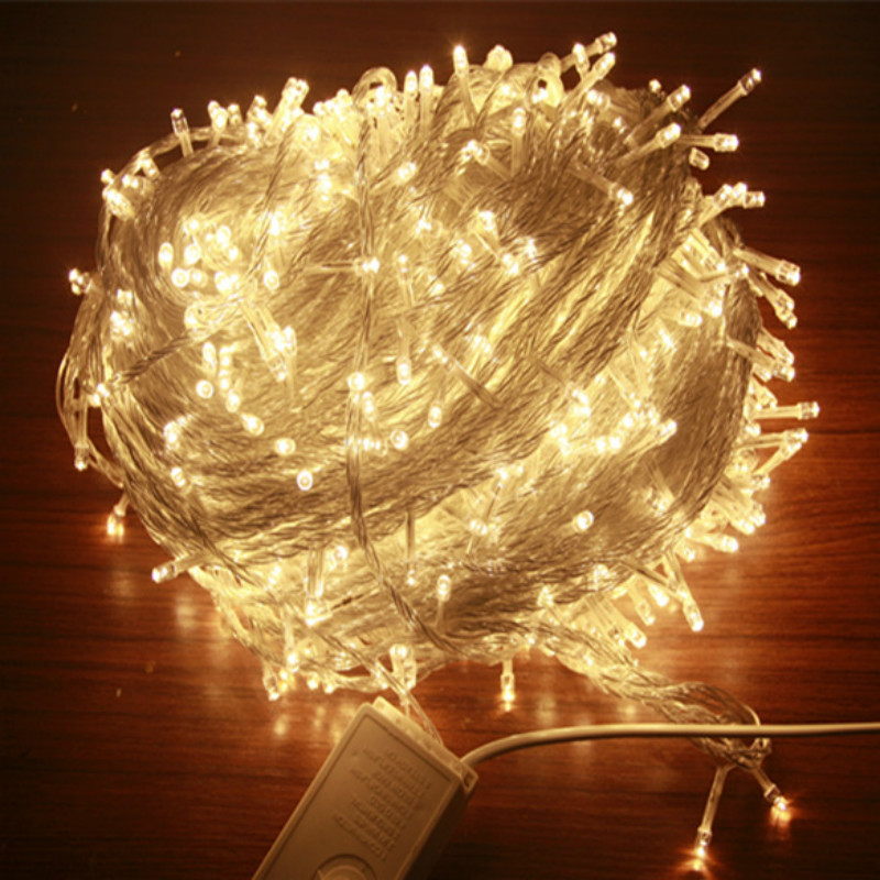 20/30/50M LED Rope Fairy String Lights <font><b>Outdoor</b></font> Waterproof Christmas Holiday Wedding Party Home DIY Decor 209-466