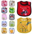 New Hot Waterproof Baby Bibs Infants Boy Girl bavoir kids baberos bandana bibs Cartoon Saliva Towel Lunch bib Scarf slabbers Z1