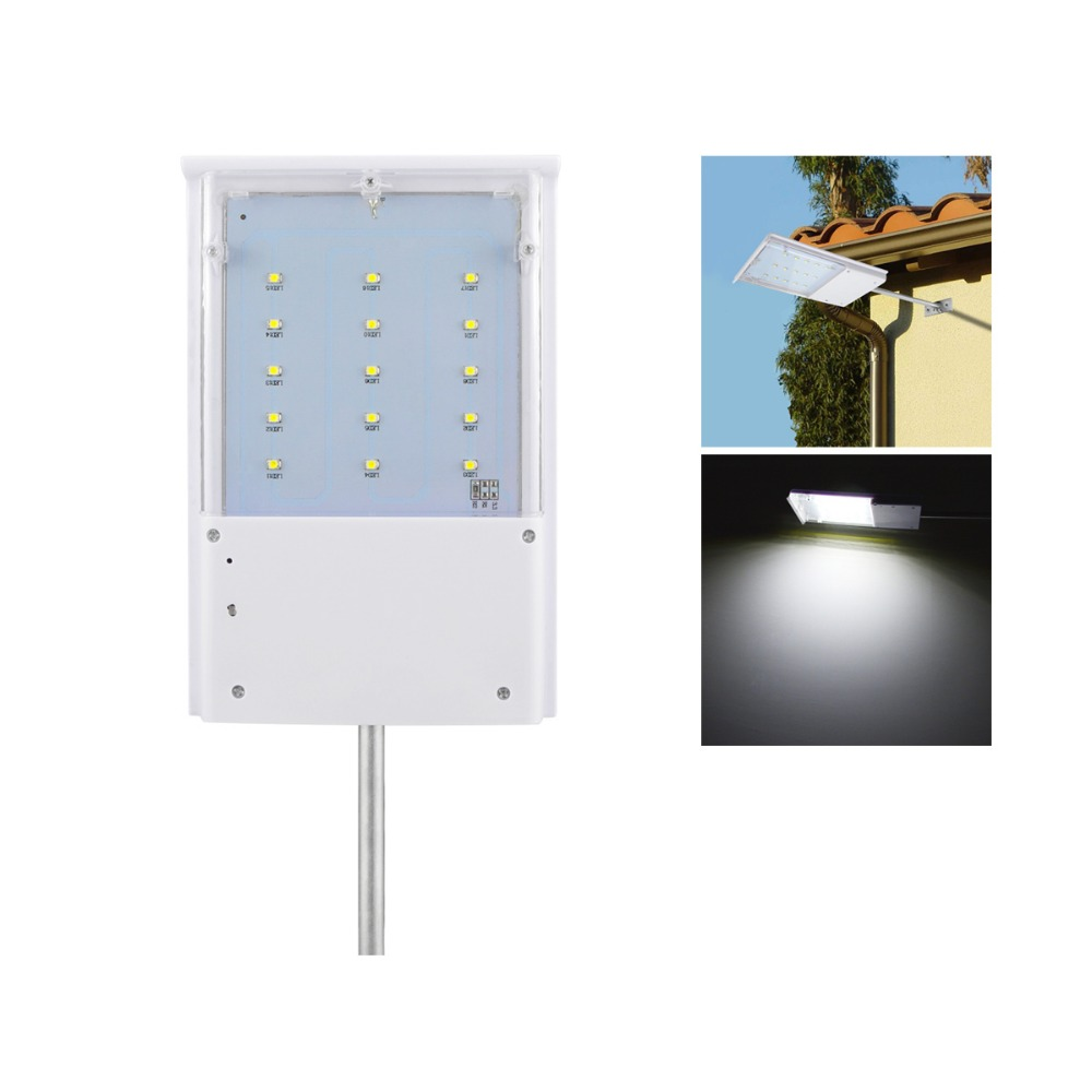 Led solar lights waterproof exterior porch wall lights for Luminarias de exterior led