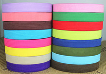 "Elastic Ribbon 20mm 3/4"" Inch For Baby Hairbow DIY /Clothing Accessories Fashion World 27 From Colors Free Shipping"