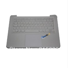 3pcs/lot 95% NEW FOR Macbook Unibody A1342 Canadian Top Case & keyboard & trackpad case