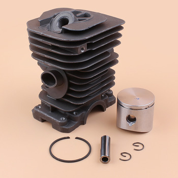 цена на 38MM NIKASIL Cylinder Piston Rings Kit For HUSQVARNA 142 141 137 136 Gasoline Chainsaw Engine Parts 530 06 99 40