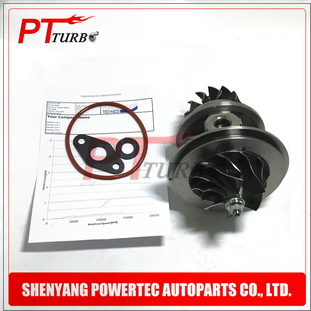 TD04 49189-03201 turbo cartouche équilibrée pour Ford F-250 GM Silverado MWM 6.07 TCA 6CYL 2002-turbine CHRA nouveau 905292010051 core