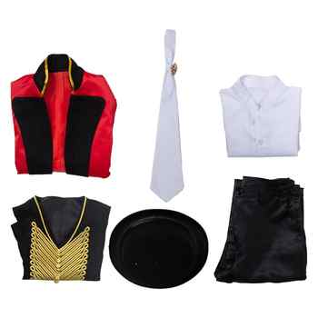 Kids The Greatest Showman P.T. Barnum Cosplay Costume Children Boys Girls Party Magician Fancy Dress Hat for Halloween Carnival