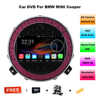 7 Octa Core 2 32G CPU Android 6 11 OS Special Car DVD For BMW Mini