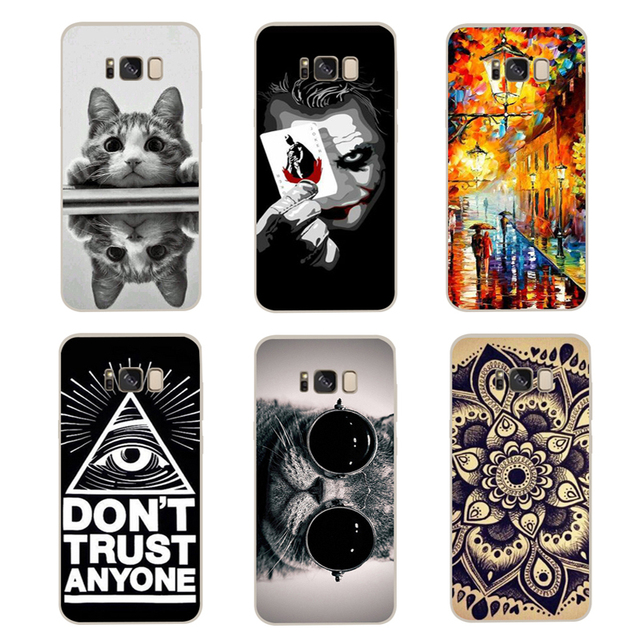 info for bb631 407fc US $1.11 22% OFF|Soft TPU Cover For Samsung galaxy S8 Case Cool Painting  Soft Silicone Back Cover Case For Samsung galaxy S8 plus Phone Cases-in ...