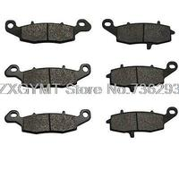 Brake Pads 09 11 For Kawasaki Vn 1700 Vulcan Nomad Classic XH Carbon Front Rear MT