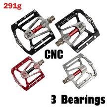цена на 3 Bearings Antiskid New Design Mountain Bike BMX  Fix Gear Bike Pedal Plate  Pedal Cr Mo Steel Axis MTB Cycling Pedals