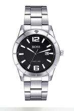 БОСС Германии часы мужчины люксовый бренд ультра-тонкий импорта Японии MIYOTA кварцевые часы из нержавеющей стали черный relogio masculino
