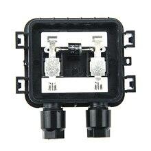 10 Unids PPO Caja de Conexiones Del Panel Solar 10 W-50 W Impermeable IP65 Para la Conexión De Cables